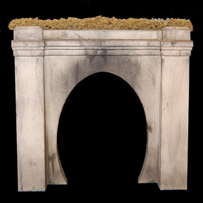 Uneek 850: HO Gauge Railway: Tunnel Portal for single track (resin): Pkt 1: No. 850