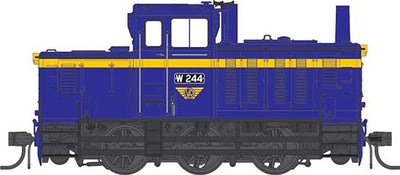 IDR MODELS -12.   W 255 Rebuilt Body VR blue  Standard DC version. IDR -12.DC