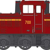 IDR MODELS  -15.   NSWGR 7101 Indian Red Original Body type. Sound DCC version. IDR-15- SOUND