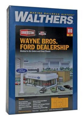 WALTHERS: WAYNE BROS FORD DEALERSHIP  #933-3483 HO