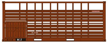 SDS Models: Victorian Railways: 20' MC CATTLE CONTAINER: Pack A