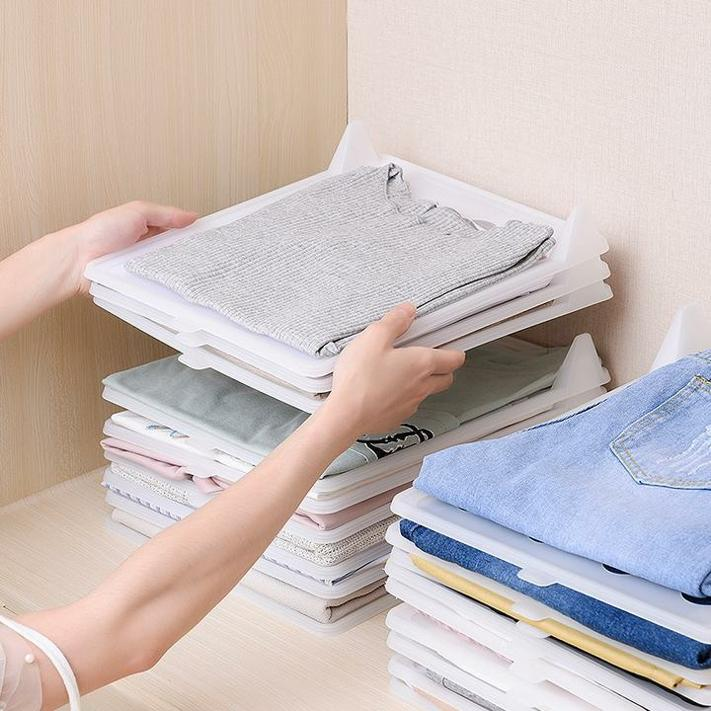 (80% Discount Today) -Creative clothing storage folding board