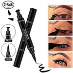 75% OFF TODAY - Eyeliner Stamp Waterproof Long-lasting 2 in 1 Winged