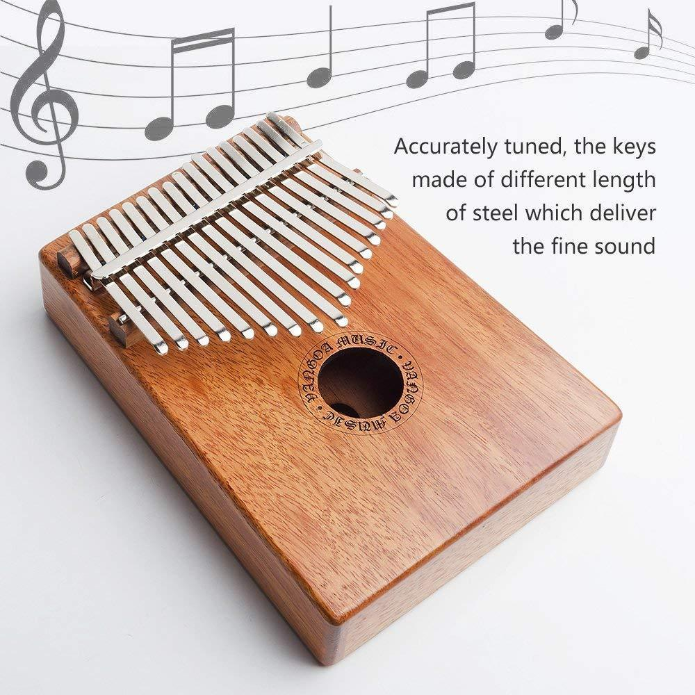 Last day promotion 80% off-Gorgeous 17 Keys Kalimba(Great Christmas Gifts)