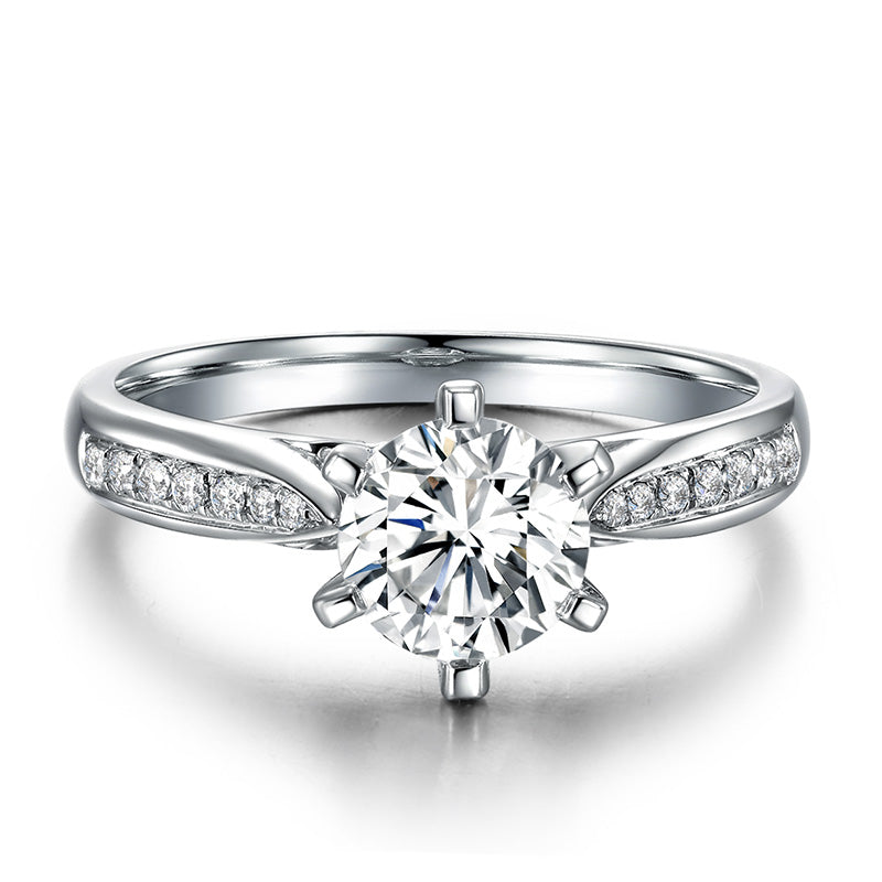 8 carat crown Silver Ring-Only 9 left in stock