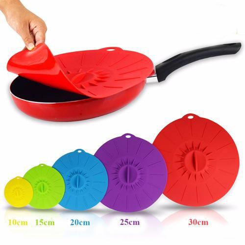 60% OFF TODAY-Tempting Silicone Bowl Covers (5 pcs)