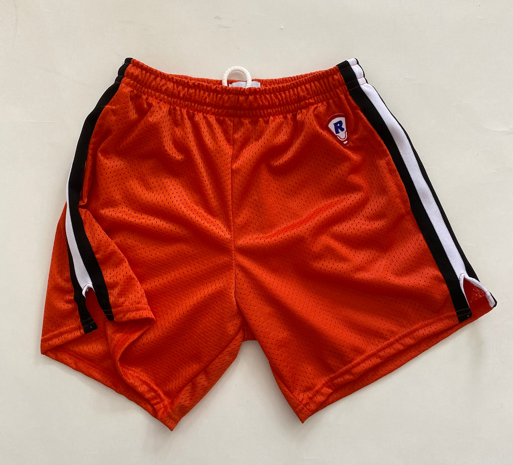 OLD SCHOOL LACROSSE SHORT 95 TIGER W/ KNIT STRIPE