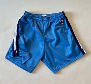 OLD SCHOOL LACROSSE SHORT 95 BLUEJAY W/ KNIT STRIPE