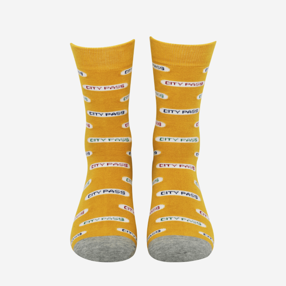 Rome Holiday antibacterial Socks