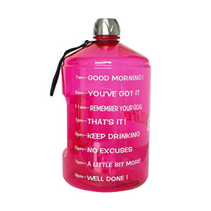 1 Gallon Motivational Water Bottle
