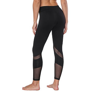 Black Flex Yoga Capris