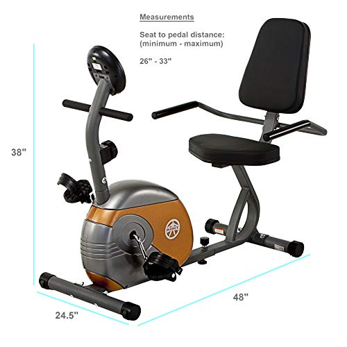 Recumbent Exercise Bike with Resistance