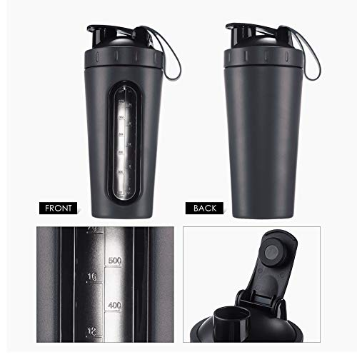 28oz Food Grade Stainless Steel Protein Shaker Cup