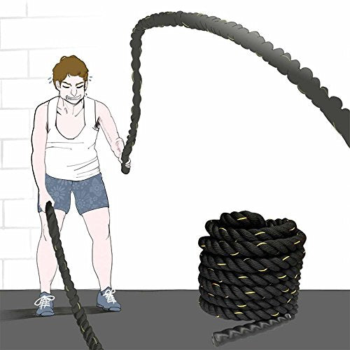 Battle Rope For Cardio & Core Strength Training