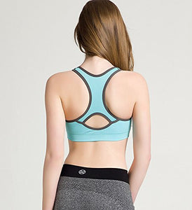 Racerback Sports Bra with Removable Padding