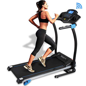Smart Digital Folding Treadmill - 3 Manual Incline & 16 Preset Program