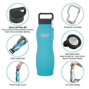Insulated Stainless Steel Water Bottle - 21 Ounces
