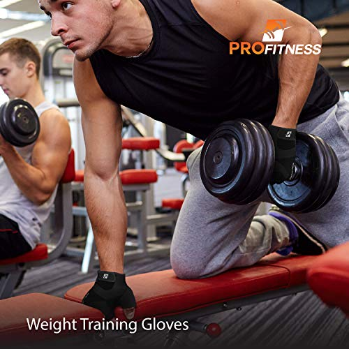 Weight Lifting Gloves with Non-slip Grip