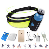 Fanny Pack with Water Bottle Holder & Zipped Pocket