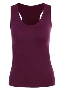 Seamless Racerback Gym Tank Top
