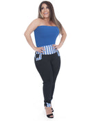 Blue Prix Belt Trousers