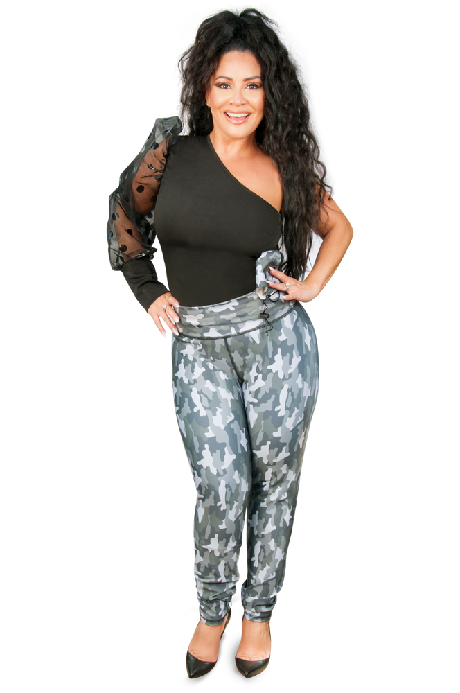 Load image into Gallery viewer, Pantalón Faja Camuflado by Carolina Sandoval