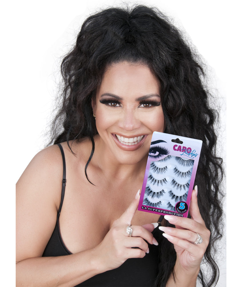 The Superproduced Eyelashes - 5 Pairs