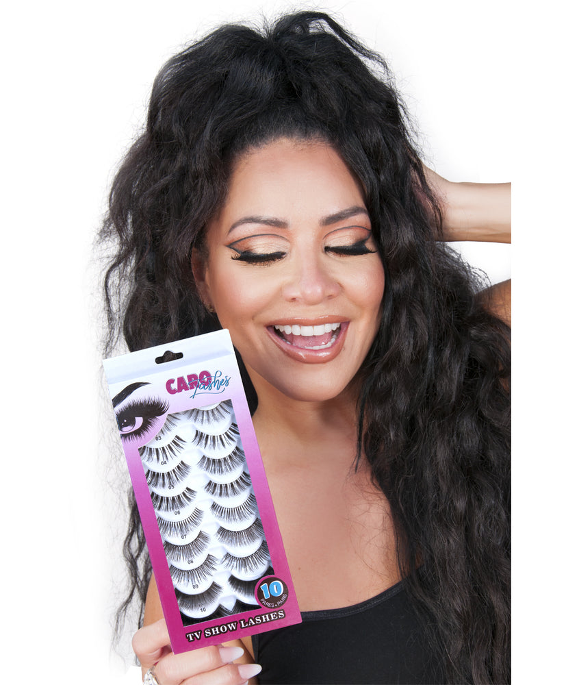 TV Show Lashes - 10 Pairs