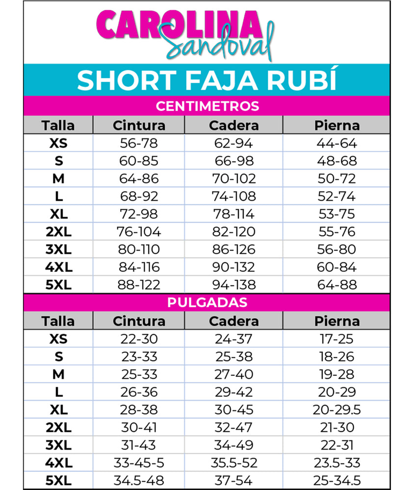 Short Rubi by Carolina Sandoval