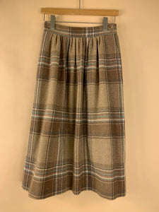 VINTAGE PENDLETON NATURAL WOOL SKIRT