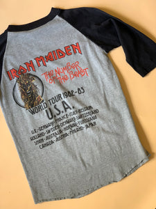 1982 IRON MAIDEN - THE NUMBER OF THE BEAST TEE