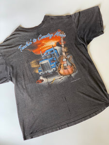 1992 TRUCKIN' TO COUNTRY MUSIC TEE