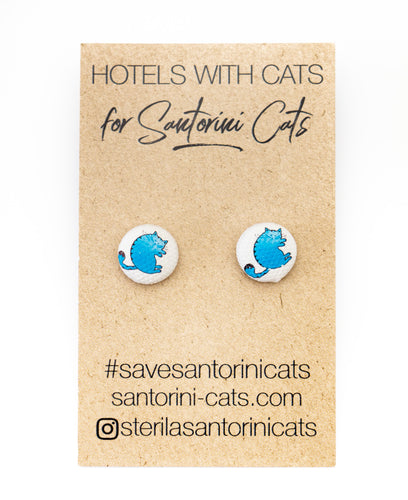 SANTORINI BUTTON EARRINGS| $8.99 AUD