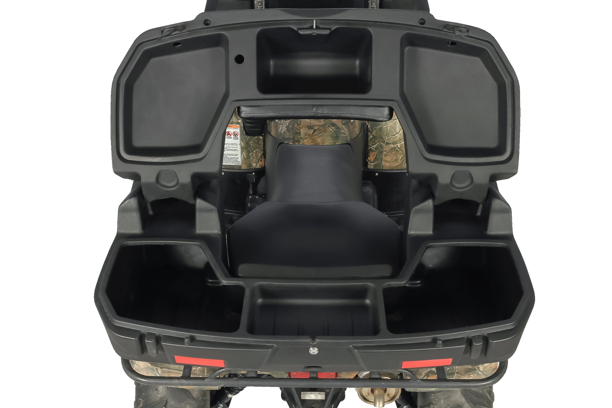 Rear Lounger Black Boar Atv