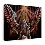 An Angel of Darkness Stretched Canvas
