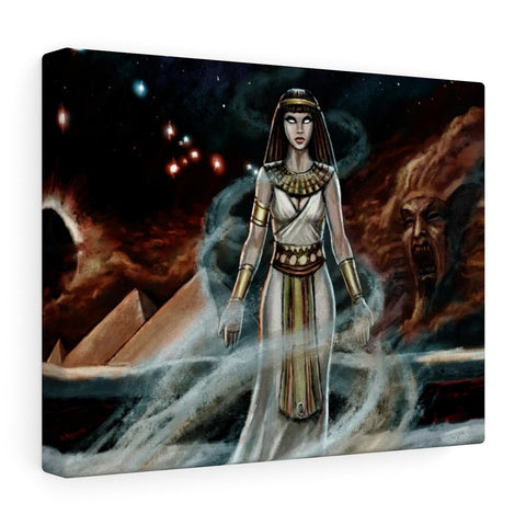 Curse of the Black Nile Stretched Canvas
