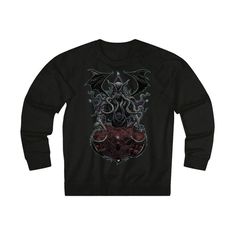 """Cthulhu"" Unisex French Terry Crew Sweatshirt"