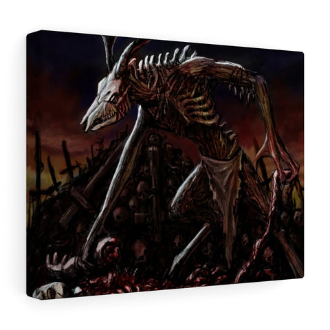 Wendigo Stretched Canvas