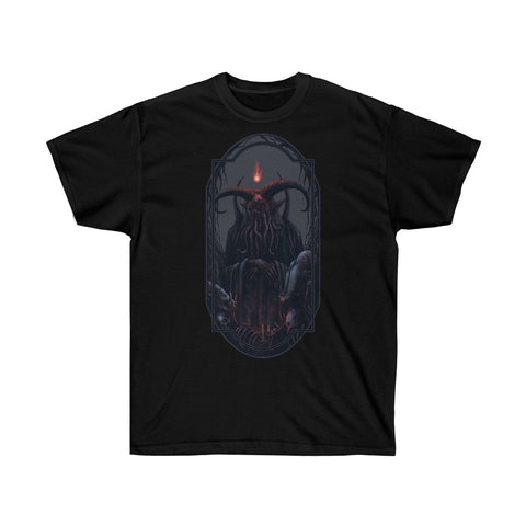 """The Dark Priest"" Unisex Ultra Cotton Tee"