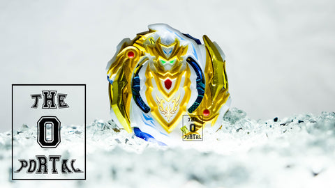 TAKARA TOMY Beyblade BURST Z BA-04 White Gold Cho-Z Achilles 00 Dimension Asia Cup Limited