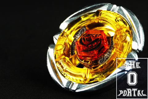 TAKARA TOMY Beyblade BB100 Booster Flame Cancer D125RF Metal Fury