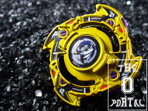 TAKARA TOMY Beyblade BURST CoroCoro Limited Gold Dragoon Fantom Gravity Variable