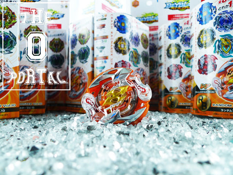 TAKARA TOMY Beyblade BURST Z B111 RB10 Complete Set Ft. Crash Ragnaruk