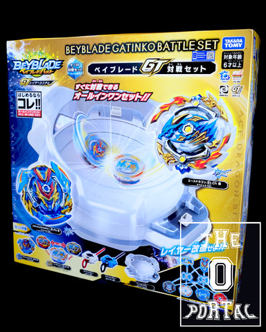 TAKARA TOMY Beyblade BURST GT B-136 Gatinko Battle Set Ft. Ace Dragoon-Valkyrie