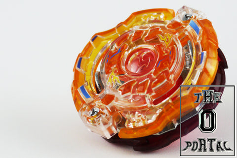 TAKARA TOMY Beyblade BURST GOD B87 RB7 Jail Jormungand 6Glaive Nothing