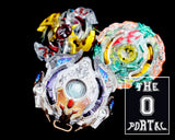 TAKARA TOMY Beyblade BURST GOD B-90 3 on 3 Battle Booster Set Ft. Galaxy Zeus