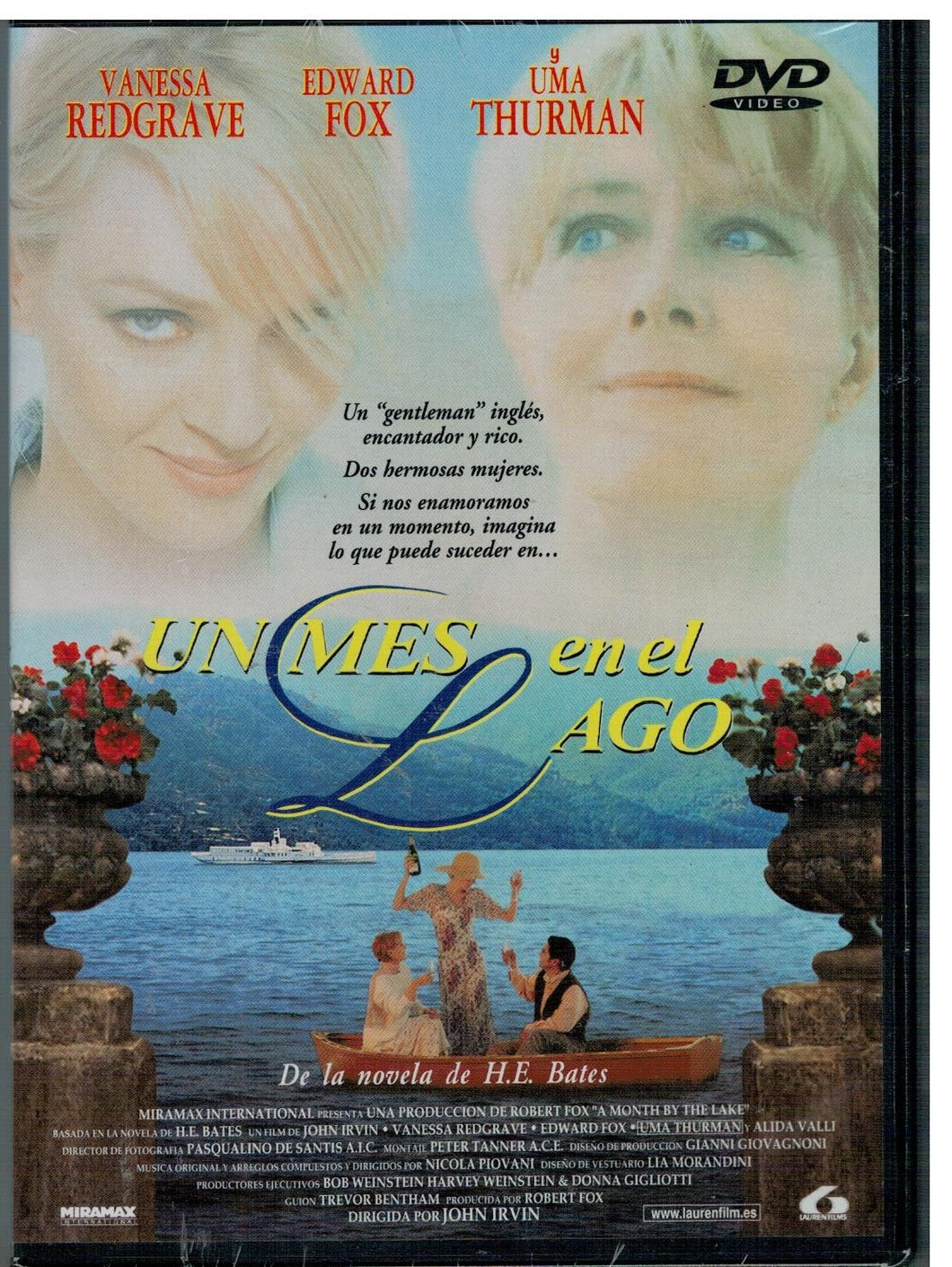 Un mes en el lago (A Month by The Lake)  (DVD Nuevo)