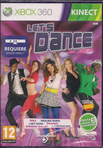 Let's Dance (Xbox 360 Kinect Nuevo)