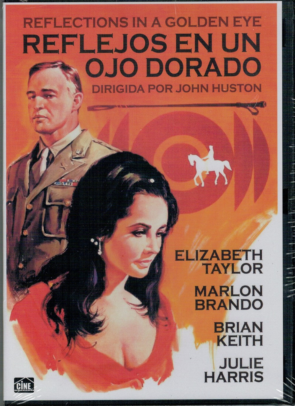 Reflejos en un ojo dorado (Reflections in a Golden Eye) (DVD Nuevo)