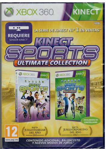 MotionSports (Xbox 360 Kinect Nuevo)